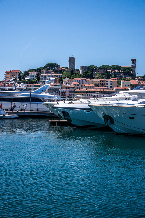 The yacht life in Cannes, France